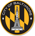 Baltimore City Department of Transportation logo